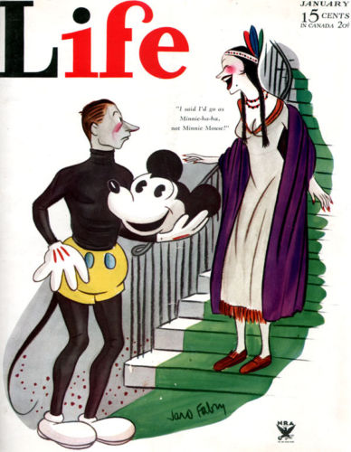Mickey Mouse Life Magazine 1934