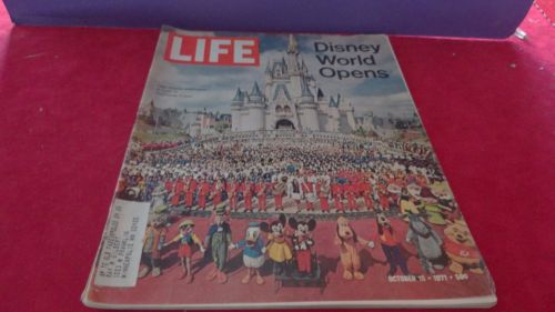 Mickey Mouse Life Magazine 1971