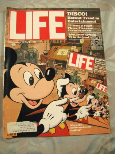 Mickey Mouse Life Magazine 1978
