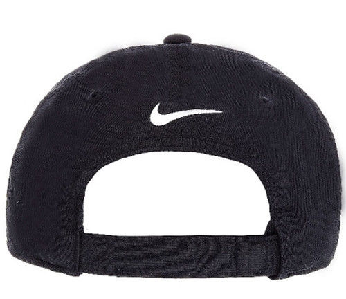 nike baseball cap black back