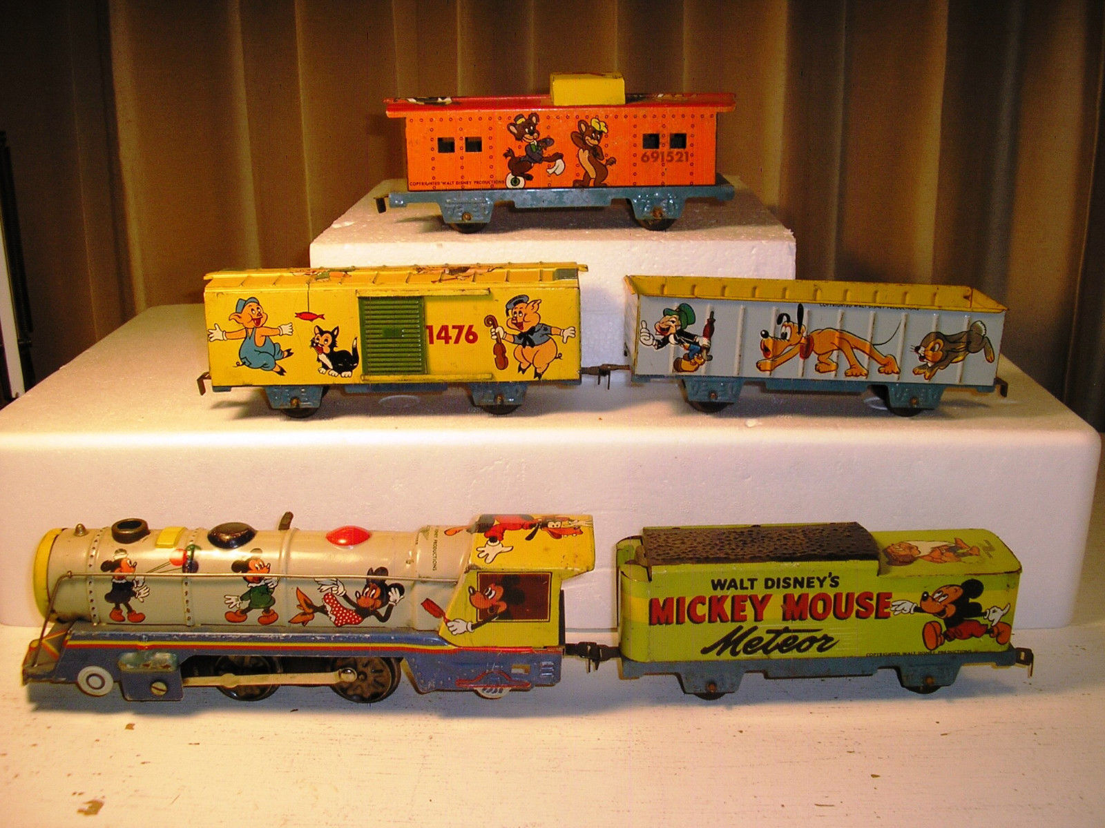 Mickey Mouse Train Collectibles