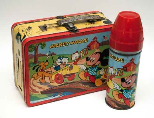 1954 Mickey Mouse Lunchbox